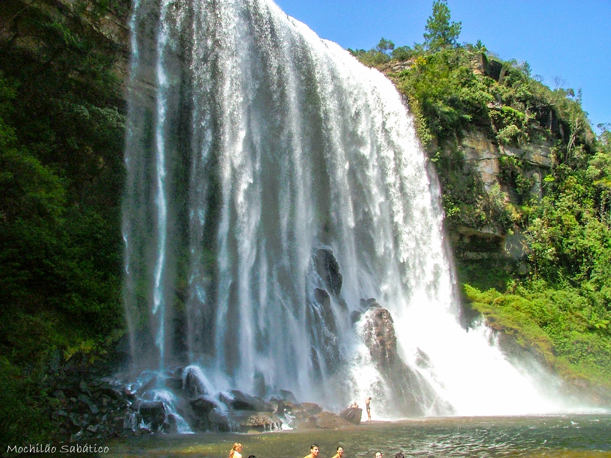 Cachoeira do Lageado Grande (Vale do Itararé)