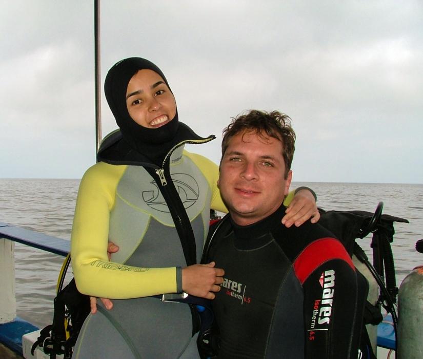 Mergulhando em Ilhabela (SP)