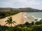 Vista da trilha da praia do Bonete (Ilhabela,SP)