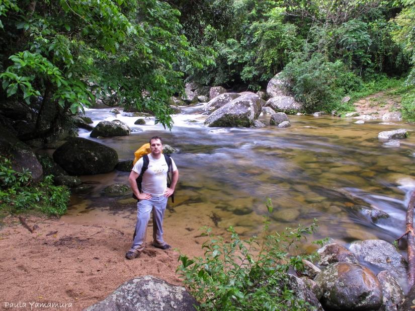 trilha para chegar na praia de Bonete (Ilhabela, SP)