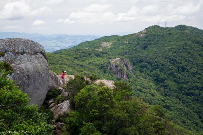 Voltando do cume do Pico do Lopo (Extrema, MG)