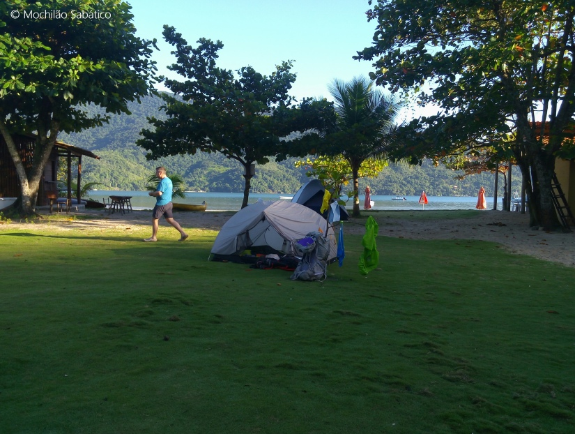 Camping do Sr Orlando (praia do Cruzeiro, Paraty)