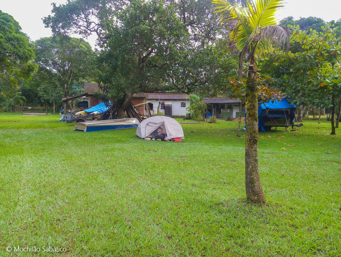Camping do Jesus em Parati Mirim (Paraty)