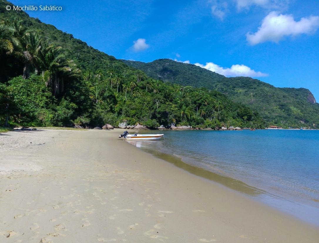 praia na Reserva Ecológica da Juatinga (Paraty)