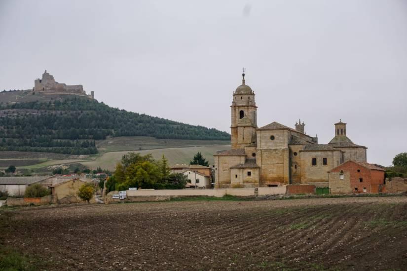 Caminho de Santiago de Compostela_Castrojeriz_castelo