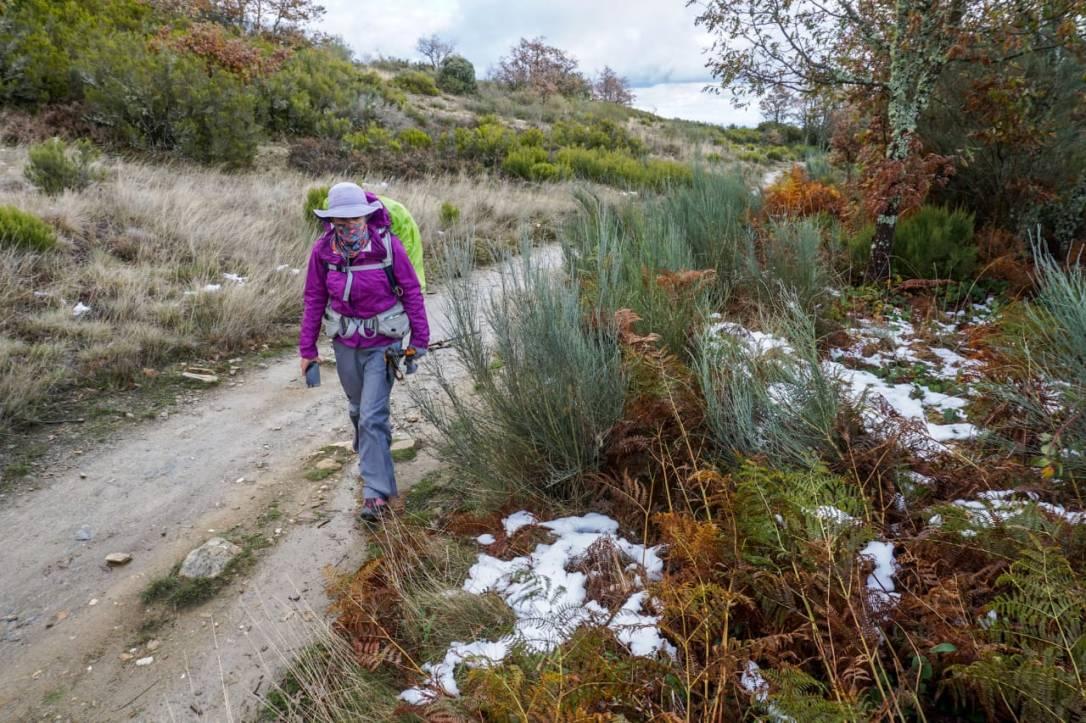 Caminho de Santiago de Compostela_neve