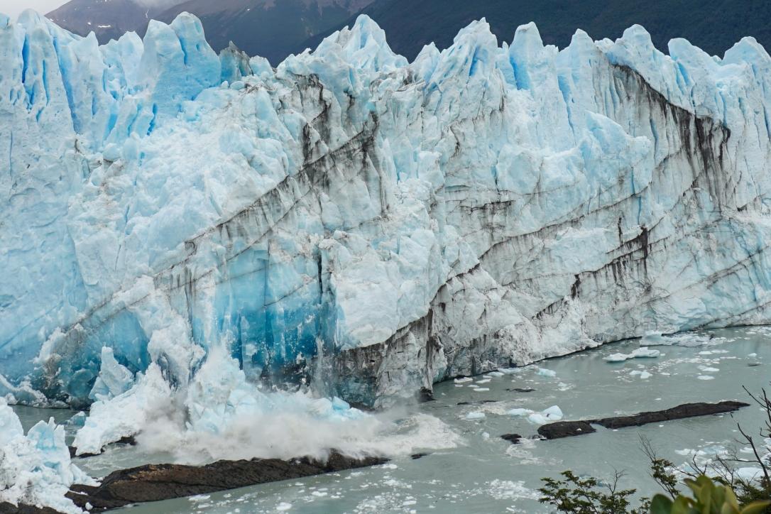 Perito Moreno glaciar ruptura