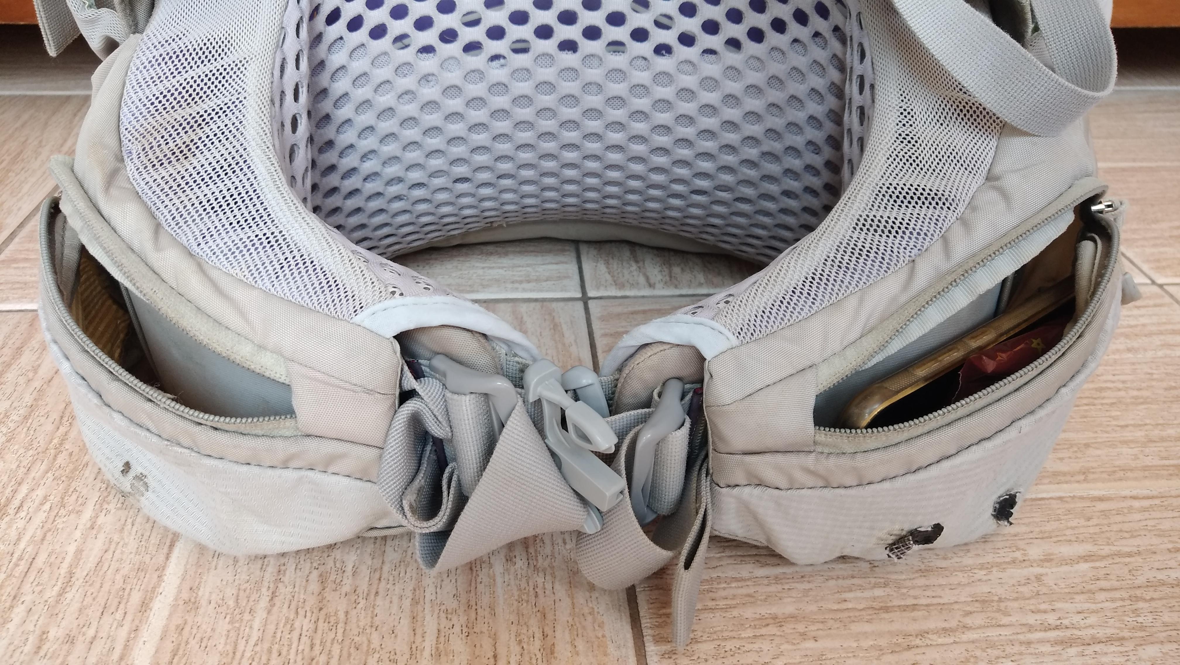 Bolso barrigueira Aura Atmos Osprey